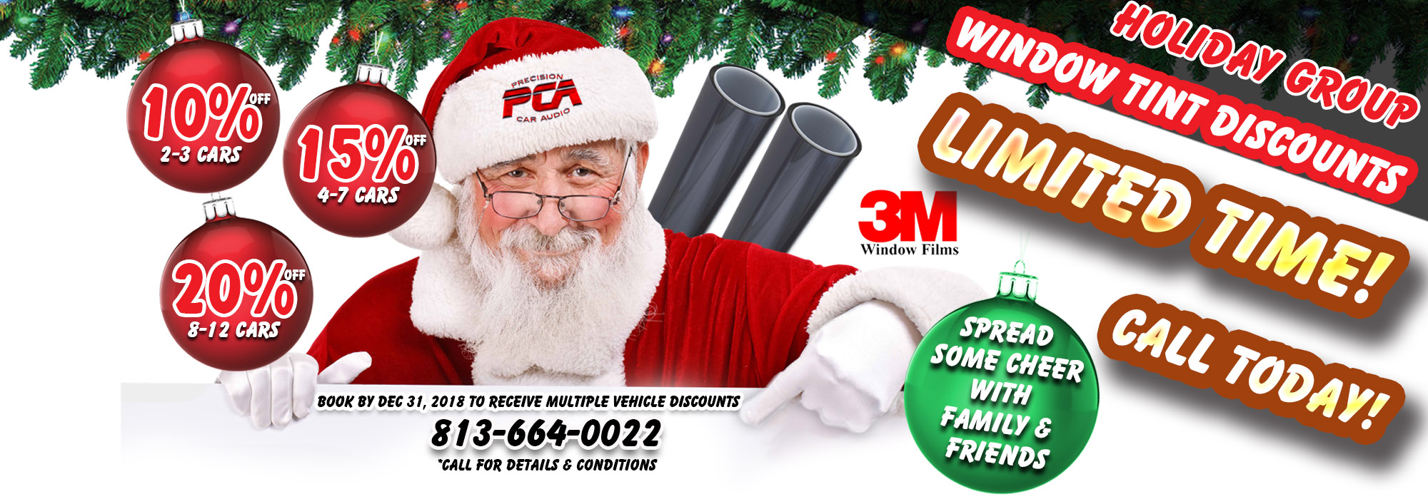 PCA Holiday Savings